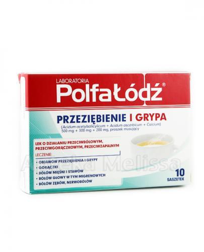 LAORATORIA POLFA ŁÓDŹ Przeziębienie i Grypa - 10 sasz. - Apteka internetowa Melissa