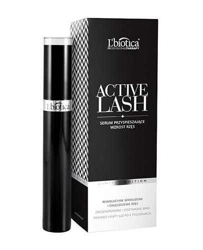 LBIOTICA ACTIVE LASH Serum przyspieszające wzrost rzęs - 3,5 ml - Apteka internetowa Melissa