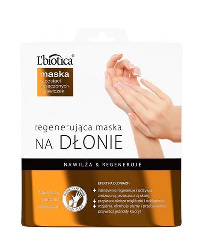 LBIOTICA Maska regenerująca na dłonie - 1 para  - Apteka internetowa Melissa