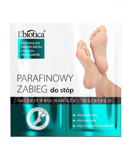 LBIOTICA Parafinowy zabieg do stóp - 2 x 5,5 ml - Drogeria Melissa