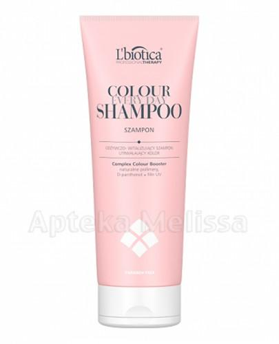 LBIOTICA COLOUR Odżywczo-witalizujący szampon - 250 ml - Apteka internetowa Melissa