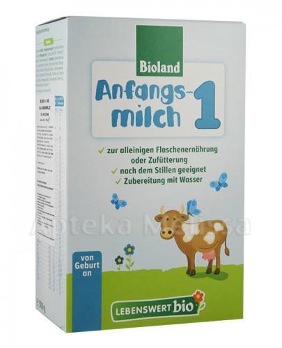 LEBENSWERT BIO Mleko 1 bio dla niemowląt - 500 g - Apteka internetowa Melissa