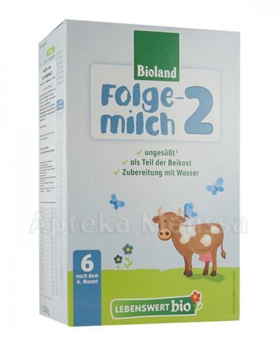 LEBENSWERT BIO Mleko 2 Dla niemowląt powyżej 6 m-ca - 500 g - Apteka internetowa Melissa