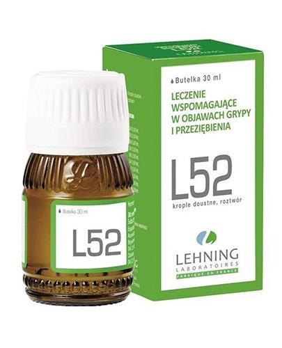 LEHNING L52 Krople doustne - 30 ml - Apteka internetowa Melissa