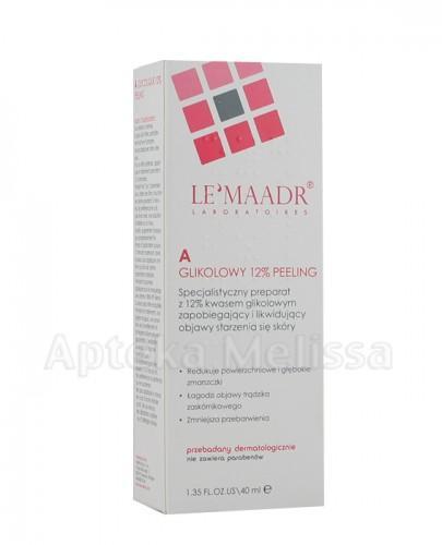 LE'MAADR A Glikolowy 12% Peeling 40 ml (Lemaadr) - Apteka internetowa Melissa