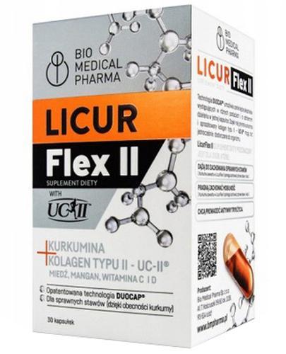 Licur Flex II - 30 kaps. - cena, opinie, dawkowanie  - Apteka internetowa Melissa
