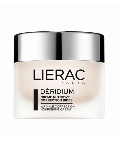 LIERAC DERIDIUM Odżywczy krem przeciwzmarszczkowy skóra sucha i bardzo sucha - 50 ml - Drogeria Melissa