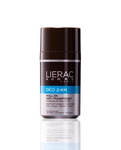 LIERAC HOMME Dezodorant w kulce 24h ochrona - 50 ml