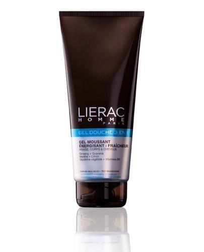 LIERAC HOMME GEL DOUCHE INTEGRAL Żel pod prysznic do ciała i włosów dla mężczyzn - 200 ml - cena, stosowanie, opinie  - Drogeria Melissa