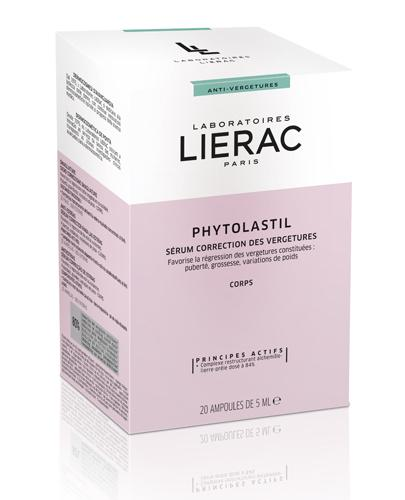 LIERAC PHYTOLASTIL Ampułki redukujące rozstępy - 20 amp. x 5 ml  - Drogeria Melissa