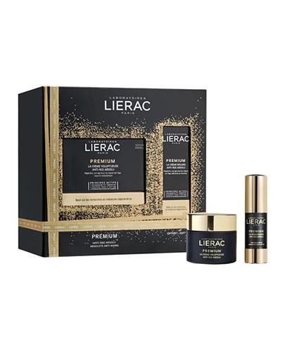 LIERAC PREMIUM Odżywczy krem redukujący zmarszczki - 50 ml + PREMIUM YEUX Wygładzający krem pod oczy wypełniający zmarszczki - 10 ml - Apteka internetowa Melissa