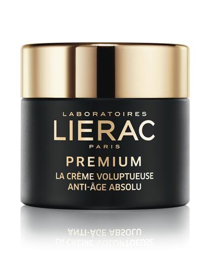 LIERAC PREMIUM odżywczy krem do twarzy przeciwstarzeniowy - 50 ml  - Drogeria Melissa