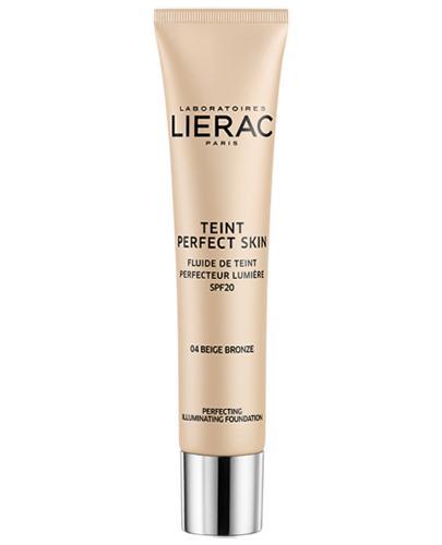 Lierac Teint Perfect Skin Podkład rozświetlający 04 Beige Bronze - 30 m Do śniadej cery - cena, opinie, działanie - Drogeria Melissa