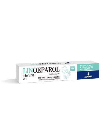 LINOEPAROL INTENSIVE Baby Maść - 30 ml - regeneracja i nawilżenie naskórka - cena, stosowanie, opinie  - Drogeria Melissa