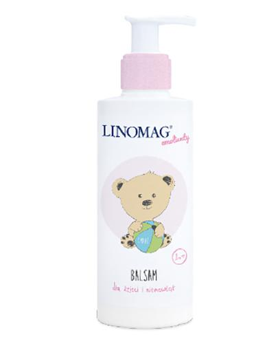 LINOMAG Balsam dla dzieci - 200 ml - cena, opinie, wskazania - Apteka internetowa Melissa