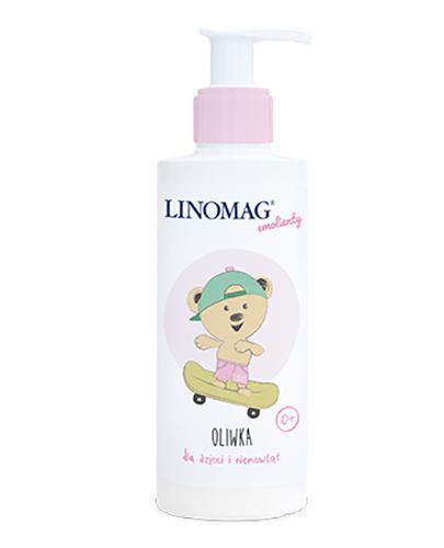 LINOMAG Oliwka dla dzieci i niemowląt od pierwszych dni życia - 200 ml - Drogeria Melissa