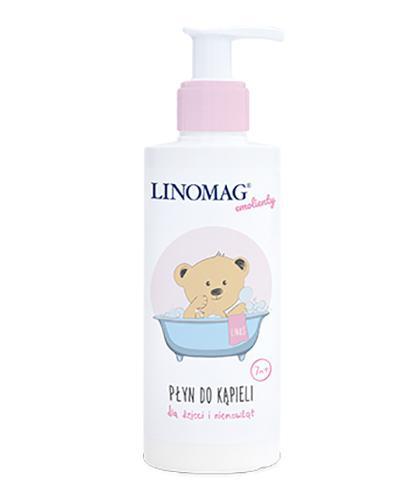 LINOMAG Płyn do kąpieli dla dzieci i niemowląt od 7 miesiąca życia - 200 ml - Drogeria Melissa