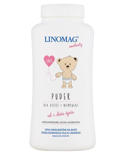 LINOMAG Puder hipoalergiczny- kosmetyczny dla dzieci - 100 g - Drogeria Melissa