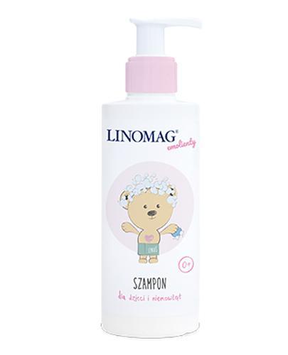 LINOMAG Szampon dla dzieci i niemowląt od 1 dnia życia - 200 ml - Drogeria Melissa