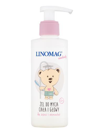 LINOMAG Żel do mycia ciała i głowy dla dzieci i niemowląt od pierwszych dni życia - 200 ml - Drogeria Melissa