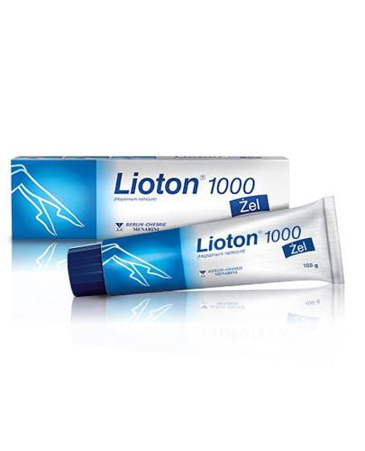 LIOTON 1000 żel - 100 g - Apteka internetowa Melissa