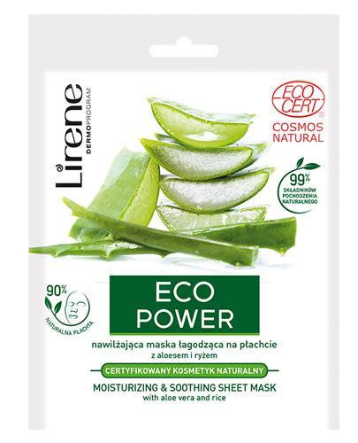LIRENE Maska łagodząca Eco Power - 25 g - cena, właściwości,opinie  - Apteka internetowa Melissa