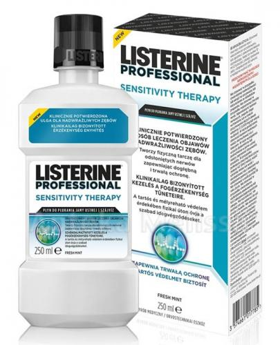 LISTERINE PROFESSIONAL SENSITIVITY THERAPY - 250 ml - Apteka internetowa Melissa