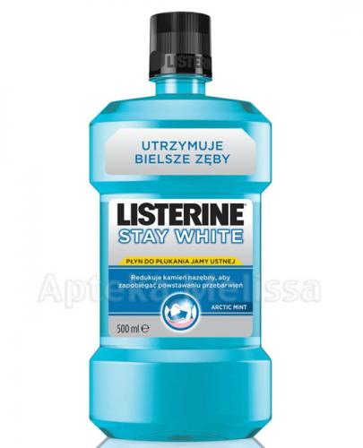 LISTERINE STAY WHITE - 500 ml - Apteka internetowa Melissa