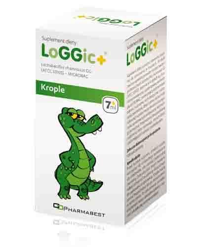 LOGGIC+ Krople doustne - 7 ml - Apteka internetowa Melissa
