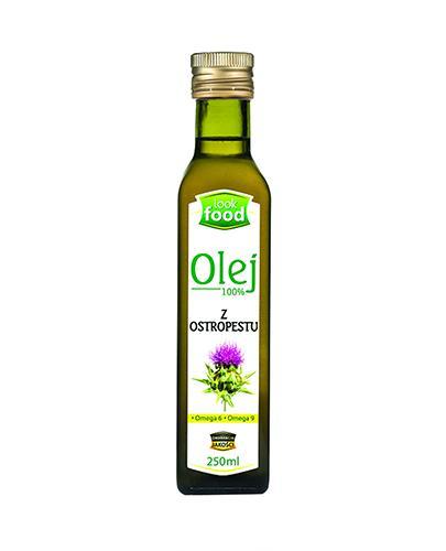 LOOK FOOD Olej z ostropestu - 250 ml - Apteka internetowa Melissa