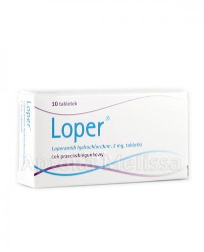 LOPER 2 mg - 10 tabl.