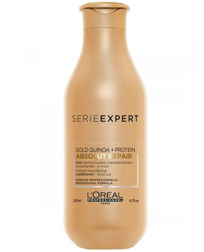 L'Oréal Professionnel Paris Expert Absolut Repair Gold Regenerująca odżywka do włosów zniszczonych i osłabionych - 200 ml - cena, opinie, właściwości