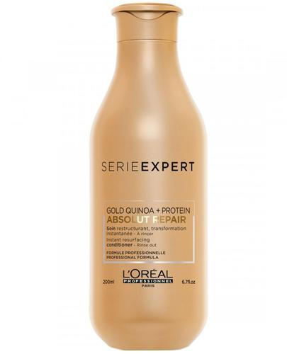 L'Oréal Professionnel Paris Expert Absolut Repair Gold Regenerująca odżywka do włosów zniszczonych i osłabionych - 200 ml - cena, opinie, właściwości