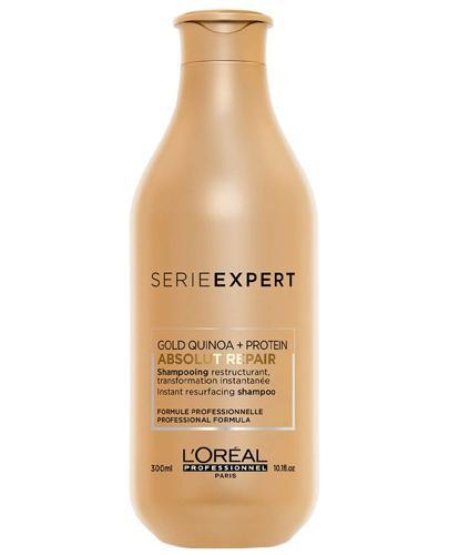 L'Oréal Professionnel Paris Expert Absolut Repair Gold Szampon regenerujący do włosów zniszczonych i osłabionych - 300 ml - cena, opinie, właściwości - Apteka internetowa Melissa