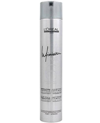 L'Oréal Professionnel Paris Infinium Pure 6 Profesjonalny lakier do włosów Strong - 500 ml - cena, opinie, stosowanie