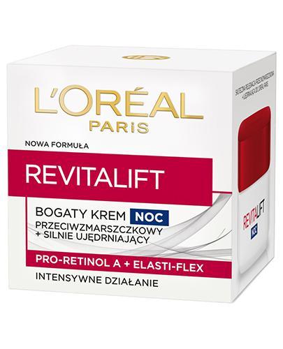 L'OREAL REVITALIFT Przeciwzmarszczkowy krem silnie ujędrniający na noc - 50 ml
