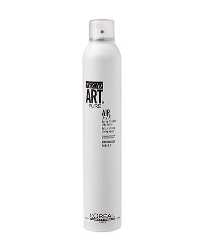 L'Oreal Tecni Art Pure Air Fix Spray do włosów utrwalający Force 5 - 400 ml - cena, opinie, stosowanie - Drogeria Melissa