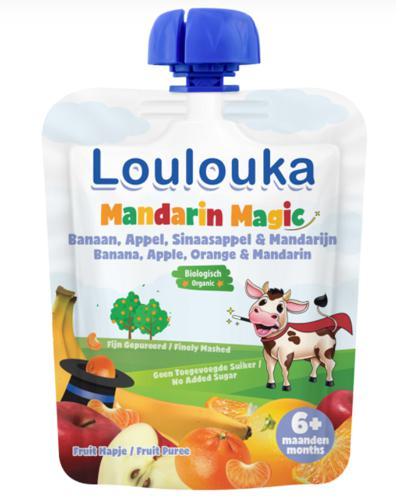 Loulouka Mandarin Magic Mus owocowy - 90 g -  cena, opinie, wskazania