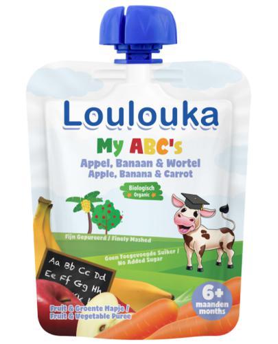 Loulouka My ABC's Mus owocowy - 90 g - cena, opinie, składniki