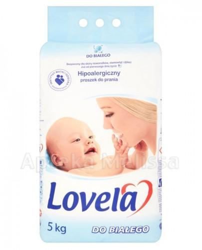 LOVELA Proszek do prania hipoalergiczny do białego - 5 kg - Apteka internetowa Melissa