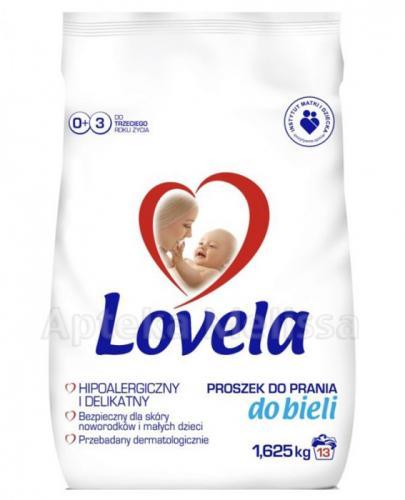 LOVELA Proszek do prania hipoalergiczny do białego - 1,625 kg - Apteka internetowa Melissa