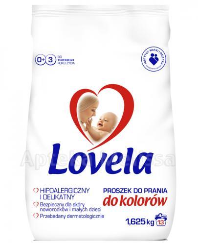 LOVELA Proszek do prania hipoalergiczny do koloru - 1,625 kg - Apteka internetowa Melissa