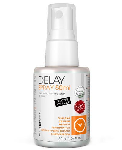 Lovely Lovers Delay Spray intymny dla mężczyzn - 50 ml - cena, opinie, wskazania - Apteka internetowa Melissa