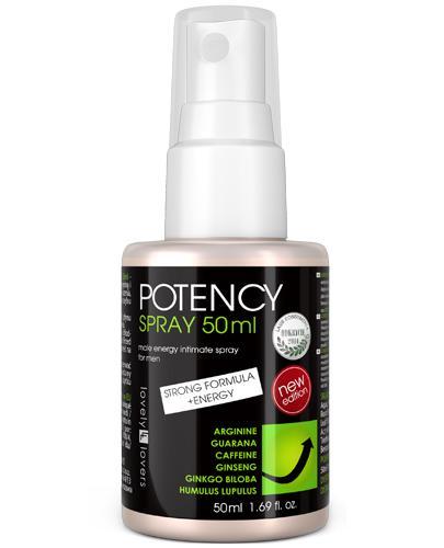Lovely Lovers Potency Spray intymny dla mężczyzn dający silniejszą erekcję - 50 ml - cena, opinie, właściwości - Apteka internetowa Melissa