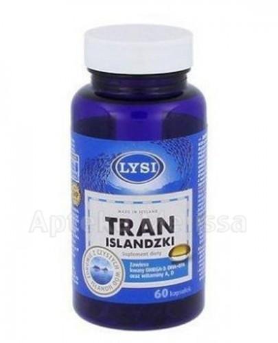 LYSI Tran Islandzki - 60 kaps. - Apteka internetowa Melissa