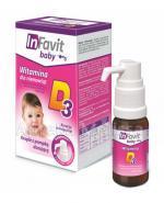 INFAVIT BABY Witamina D3 dla niemowląt - 9 ml Data ważności: 2018.02.28 - Apteka internetowa Melissa