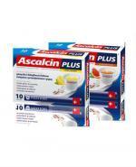 ASCALCIN PLUS Cytrynowy - 10 sasz. - Apteka internetowa Melissa