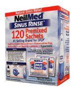SINUS RINSE Zestaw uzupełniający dla dorosłych - 120 sasz. - Apteka internetowa Melissa