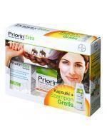 PRIORIN EXTRA - 60 kaps. + PRIORIN EXTRA Szampon - 200 ml - Apteka internetowa Melissa