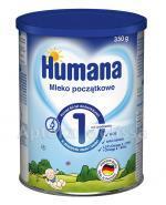 HUMANA 1 Mleko modyfikowane w proszku początkowe dla niemowląt - 350 g - Apteka internetowa Melissa